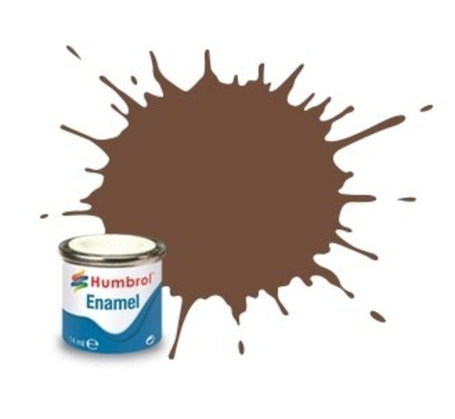 AA1081 - Chocolate  - 14ml Enamel Paint, MATT, Shade 098