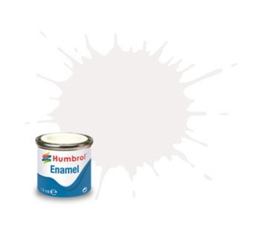 AA0240 White Enamel, 14ML, Gloss, Shade 022