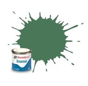 Humbrol - HMB AA1119 - Mid Green - Enamel, 14ML, Matt, Shade 101