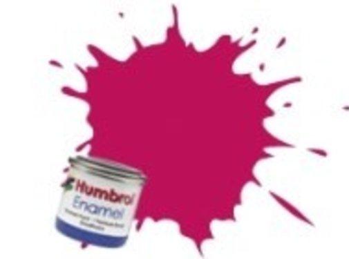 Humbrol - HMB AA0552 - Sunset Red - Enamel, 14ML, Metallic, Shade 051