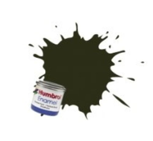 Humbrol - HMB AA0583 - Gunmetal - Enamel, 14ML, Metallic, Shade 053