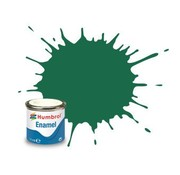 Humbrol - HMB AA0326 - Dark Green - 14ml Enamel Paint, MATT, Shade 030