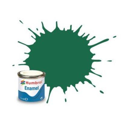 HMB - HUMBROL AA0326 - Dark Green - 14ml Enamel Paint, MATT, Shade 030