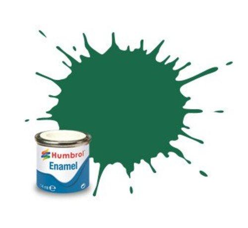 Humbrol - HMB AA0326 - Dark Green - 14ml Enamel Paint, MATT, Shade 030