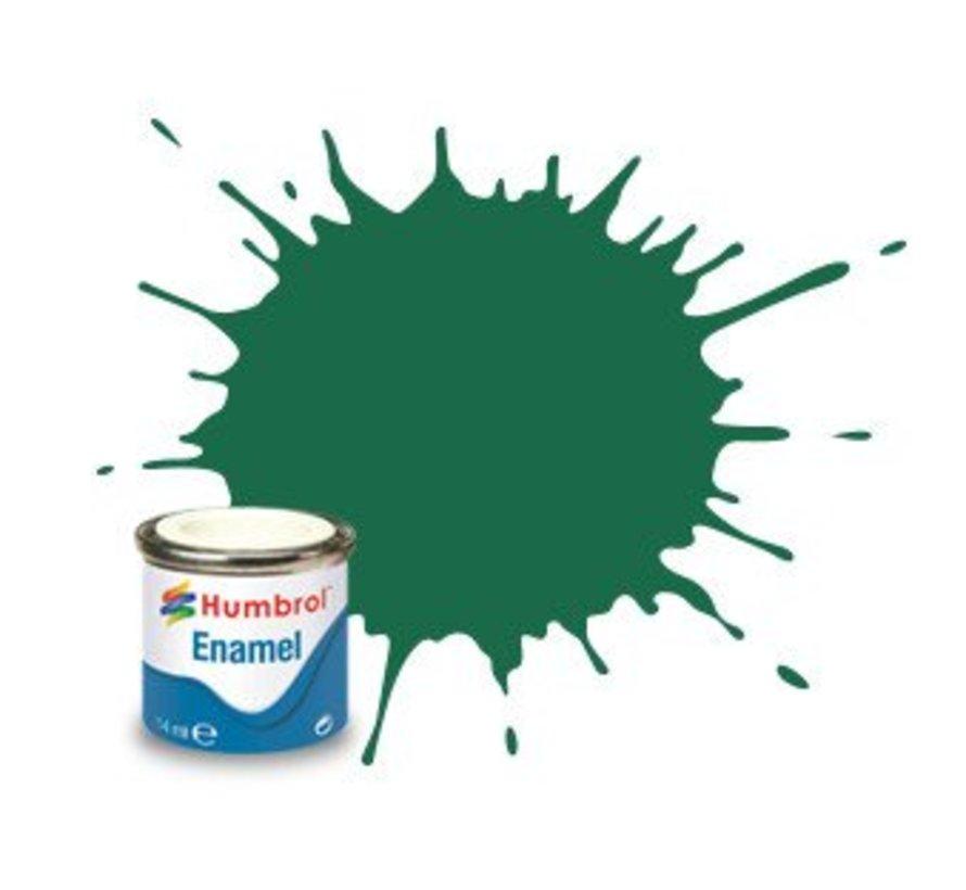 AA0326 - Dark Green - 14ml Enamel Paint, MATT, Shade 030