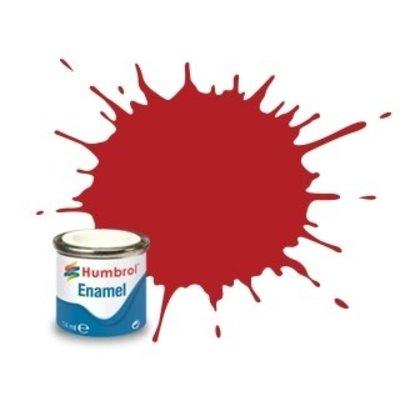 HMB - HUMBROL AA1660 - Insignia Red - Enamel, 14ML, Matt, Shade 153