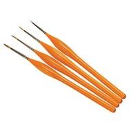 HMB - HUMBROL AG4301 - Set of 4 Acrylic & Enamel - Brush Pack, Detail, Synthetic