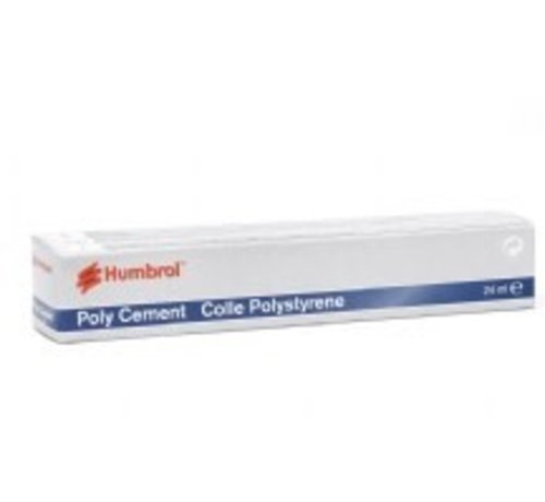 Humbrol - HMB AE4422 - Poly Cement, 24 ml, Tube