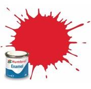 Humbrol - HMB AQ0215 - Bright Red - Enamel, 50mL, Gloss Shade 19