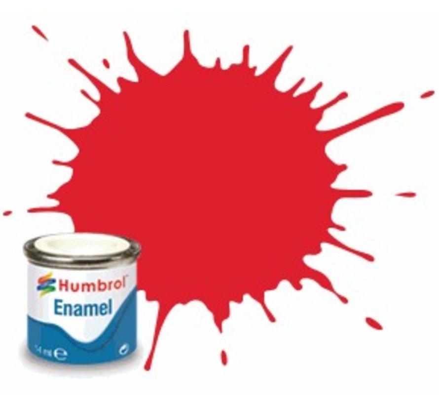 AQ0215 - Bright Red - Enamel, 50mL, Gloss Shade 19