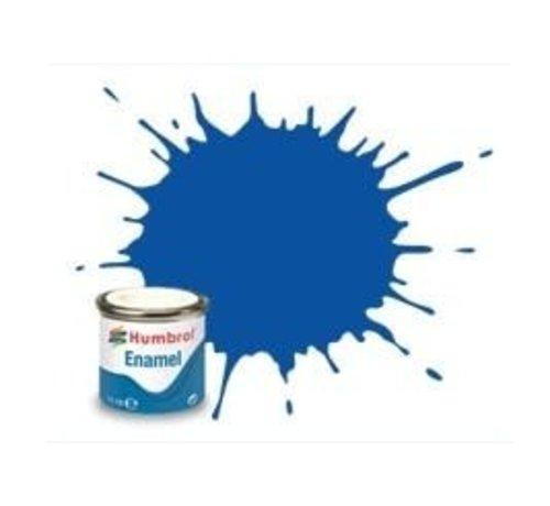 Humbrol - HMB AQ0160 - French Blue - Enamel, 50mL, Gloss Shade 14