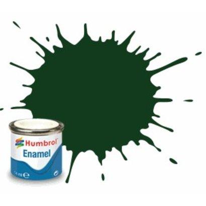 HMB - HUMBROL AQ0040 - Brunswick Green - Enamel, 50mL, Gloss, Shade 3