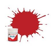 Humbrol - HMB AB0060 Scarlet Acrylic, 14mL, Matt, Shade 060