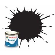 HMB - HUMBROL AQ0366 - Black - Enamel, 50mL, Matt Shade 33