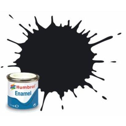 HMB - HUMBROL AQ0232 - Black - Enamel, 50mL, Gloss Shade 21