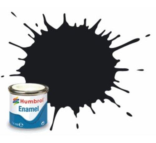 Humbrol - HMB AQ0232 - Black - Enamel, 50mL, Gloss Shade 21