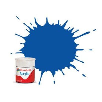 HMB - HUMBROL AB0014 - French Blue - Acrylic, 14mL, Gloss, Shade 014