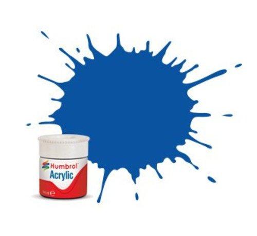 Humbrol - HMB AB0014 - French Blue - Acrylic, 14mL, Gloss, Shade 014