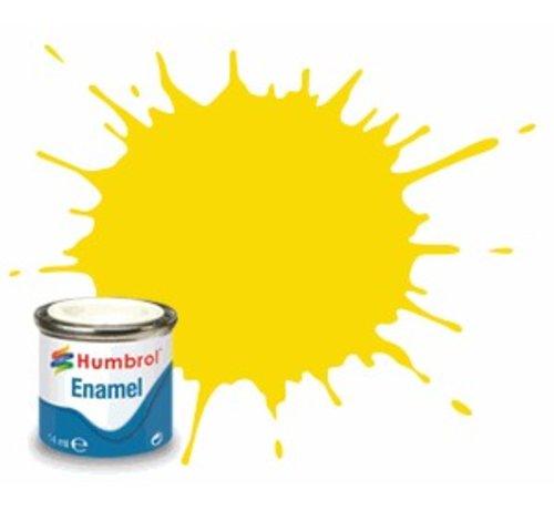 Humbrol - HMB AQ0770 - Yellow - Enamel, 50mL, Gloss Shade 69
