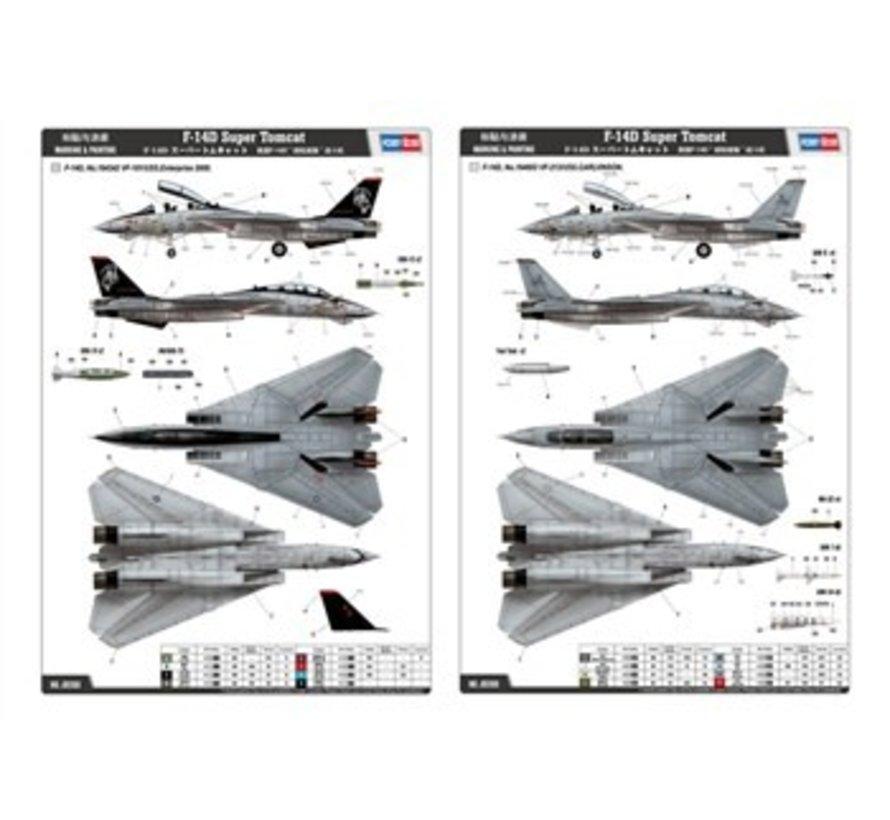 80368 F-14D Super Tomcat 1/48 HobbyBoss