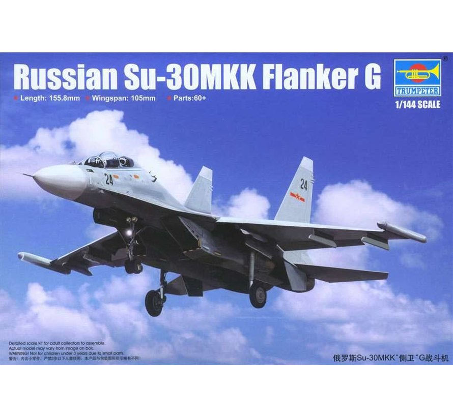 TR03917 Trumpeter 1/144 RussianSU-30MKK Flanker G