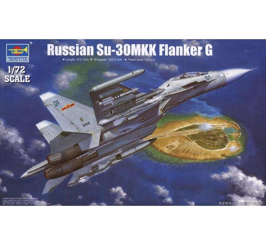 TR01659 Trumpeter 1/72 Sukhoi Su-30MKK Flanker G Russian