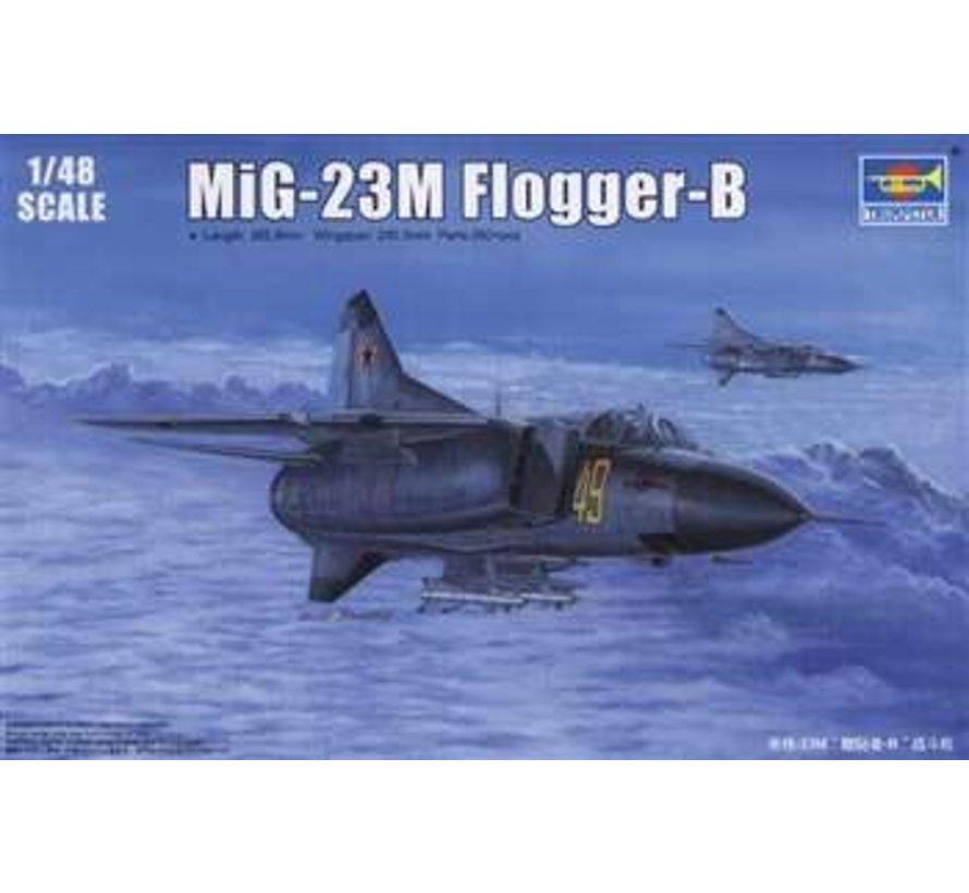 Trumpeter 1/48 MiG-23M Flogger-B - TR02853