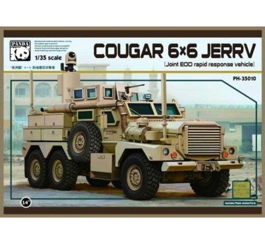 35010 1/35 US Army Cougar 6x6 JERRV (Joint EOD Rapid Response Vehicle)