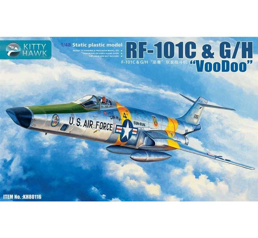 80116 KittyHawk 1/48 RF-101C & G/H VooDoo