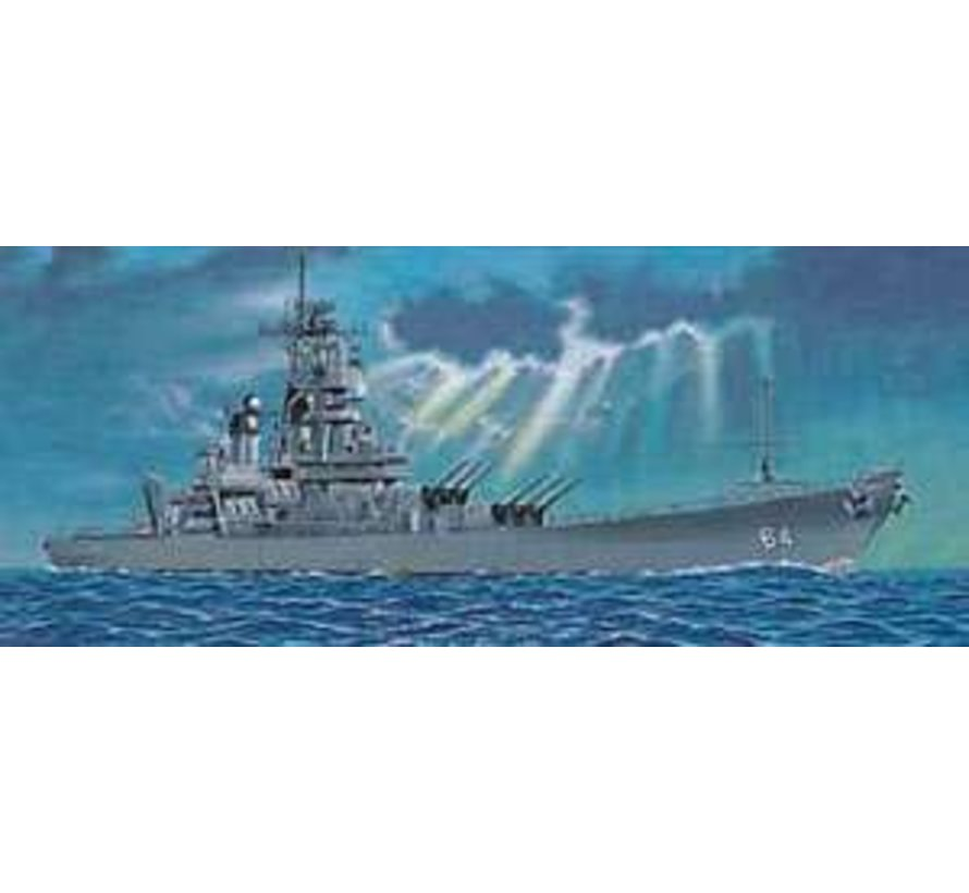 05706 Trumpeter 1/700 U.S. Battleship BB-64 Wisconsin 1991 'Wisky'