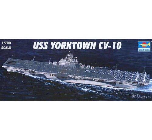 TSM - Trumpeter Models 05729 Trumpeter 1/700 USS Yorktown CV-10 Aircraft Carrier