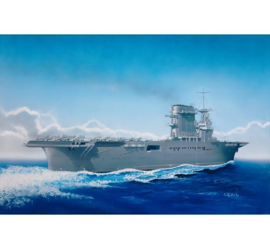 05716 Trumpeter 1/700 USS Lexington CV-2 aircraft carrie May 1942