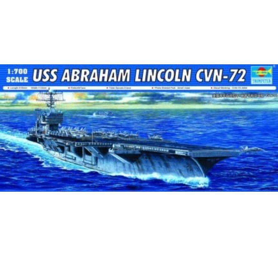 05732 Trumpeter 1/700 USS Abraham Lincoln CVN-72 Aircraft Carrier