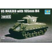 Trumpeter Models (TSM) US M4A3E8 w/105mm M4  1/72