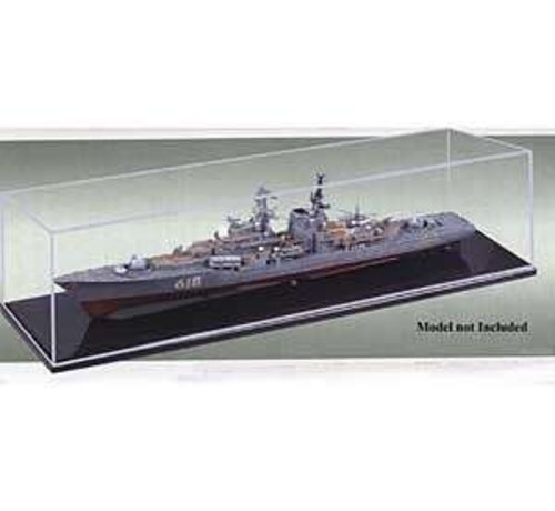 TSM - Trumpeter Models 09801 Show case 19.6x5.8x6 1/700 Ship and Boats