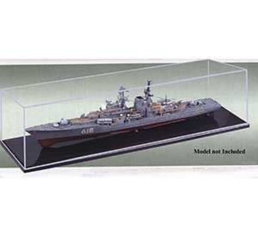 09801 Show case 19.6x5.8x6 1/700 Ship and Boats