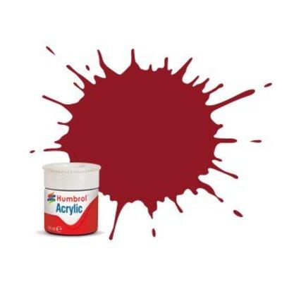 HMB - HUMBROL AB0020 - Crimson - Acrylic, 14mL, Gloss, Shade 020