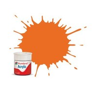 HMB - HUMBROL AB0018 - Orange - Acrylic, 14mL, Gloss, Shade 018