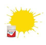 Humbrol - HMB AB0069 - Yellow - Acrylic, 14mL, Gloss, Shade 069