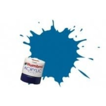 HMB - HUMBROL AB0052 - Baltic Blue - Acrylic, 14mL, Metallic, Shade 052