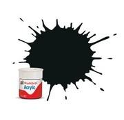 Humbrol - HMB AB0091 - Black Green - Acrylic, 12mL, Matt, Shade 091