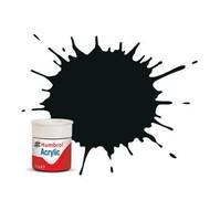 HMB - HUMBROL AB0091 - Black Green - Acrylic, 12mL, Matt, Shade 091