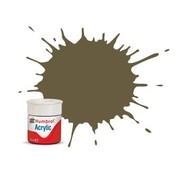 Humbrol - HMB AB0086 - Light Olive - Acrylic, 14mL, Matt,  Shade 086