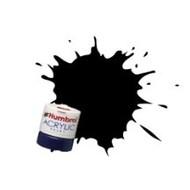 HMB - HUMBROL AB0085 - Coal Black - Acrylic, 14mL, Satin, Shade 085