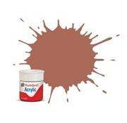Humbrol - HMB AB0113 - Rust - Acrylic, 14mL, Matt, Shade 113
