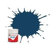 Humbrol - HMB AB0104 - Oxford Blue - Acrylic, 14mL, Matt, Shade 104