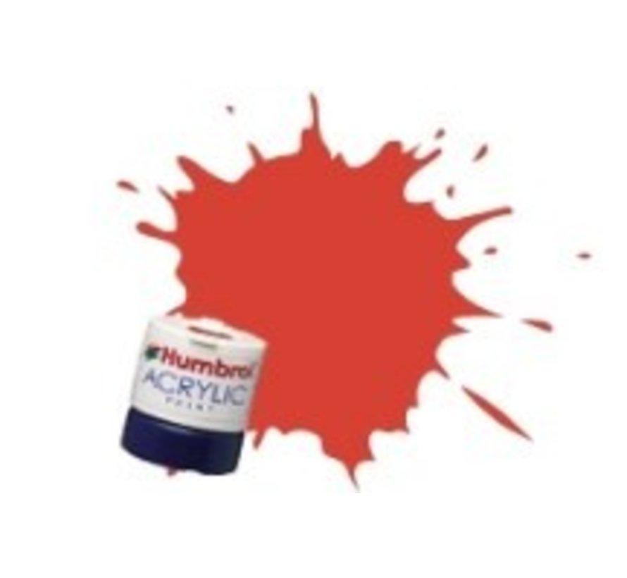 AB0174 - Signal Red - Acrylic, 12mL, Satin, Shade 174