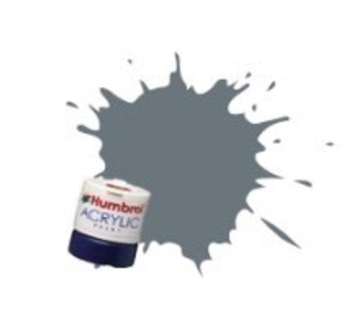 Humbrol - HMB AB0164 - Dark Sea Grey - Acrylic, 12mL, Satin, Shade 164