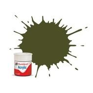 HMB - HUMBROL AB0155 - Olive Drab - Acrylic, 14mL, Matt, Shade 155