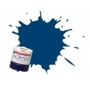 Humbrol - HMB AB2411 - Diesel Blue - Acrylic, 14mL, Rail Colors, RC411